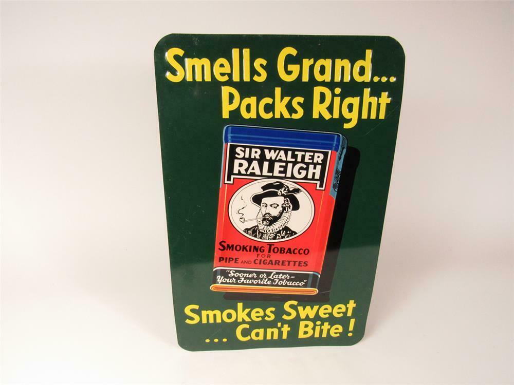 NOS 1940s Sir Walter Raleigh 'Smoking Tobacco' single-sided e