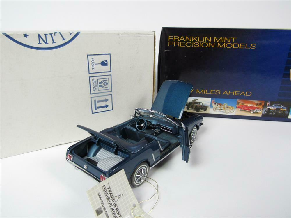 Scarce 1964-1/2 Ford Mustang Franklin Mint LE 1:24 scale diec