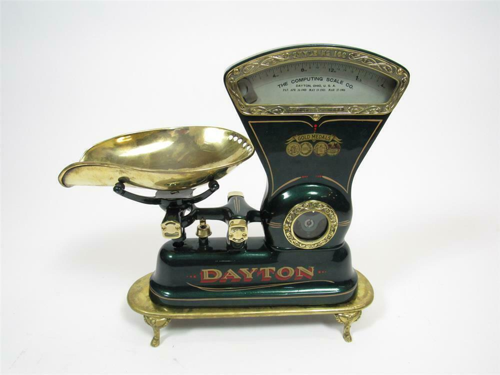 Late teens-early 20s soda fountain Dayton candy scale