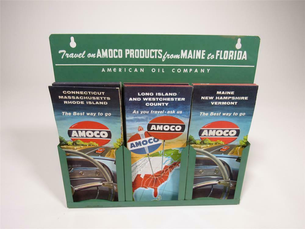 Florida To Maine Map.Superb 1950s Amoco Gasoline From Maine To Florida Service S