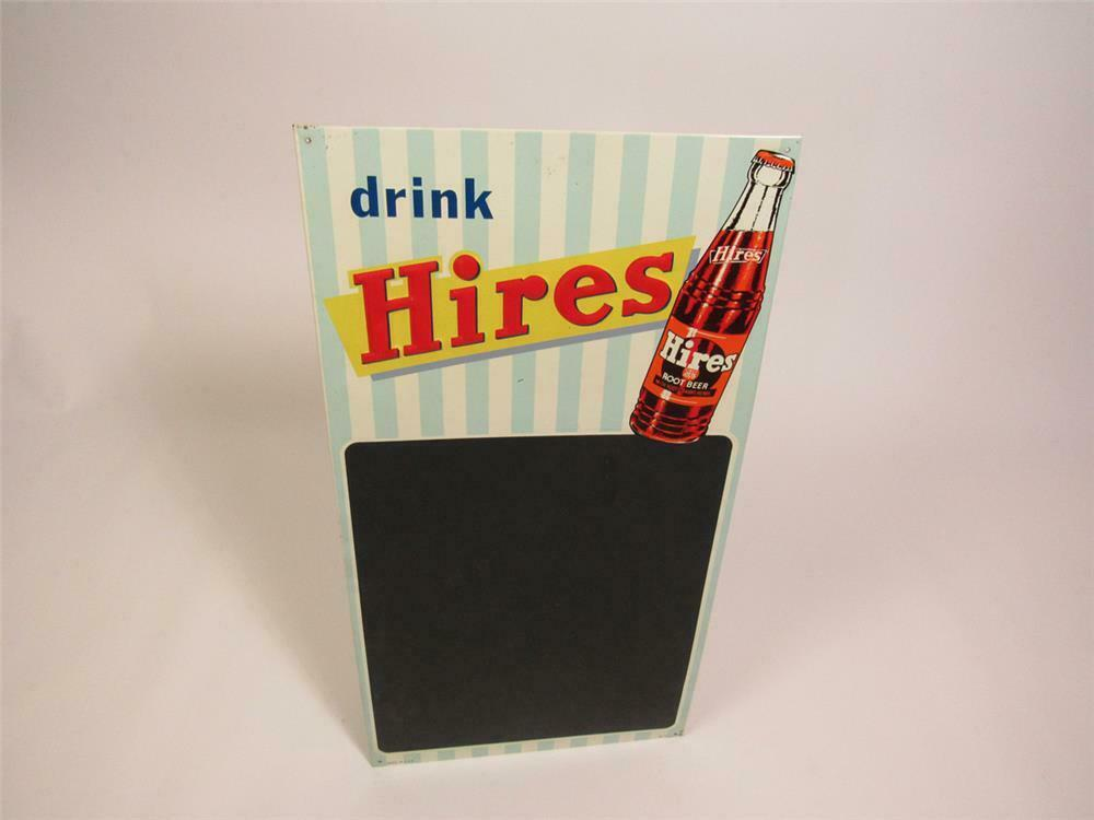 fabulous nos hires root beer single sided embossed tin diner