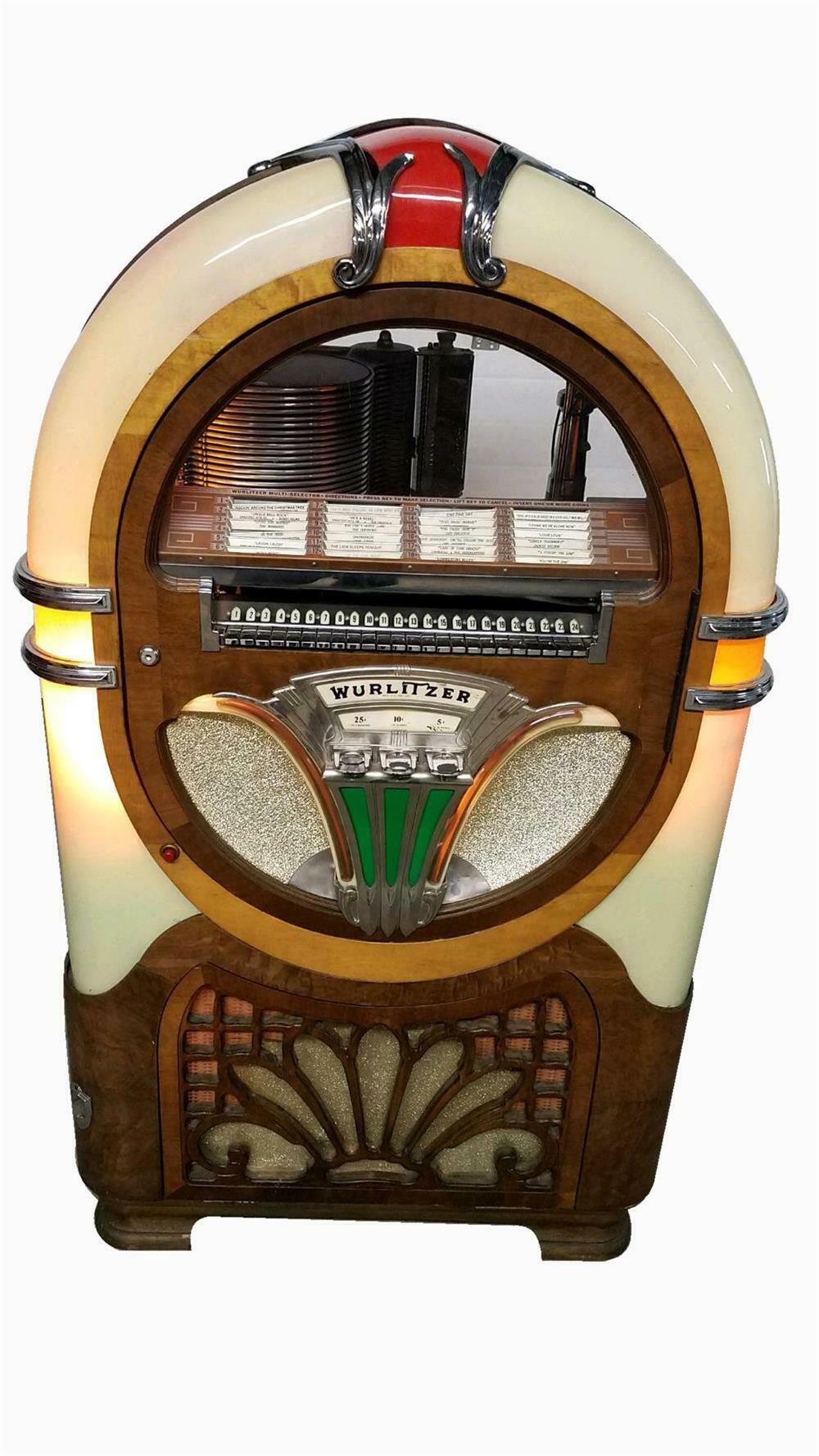 Gorgeous 1941 Wurlitzer model 750 diner jukebox