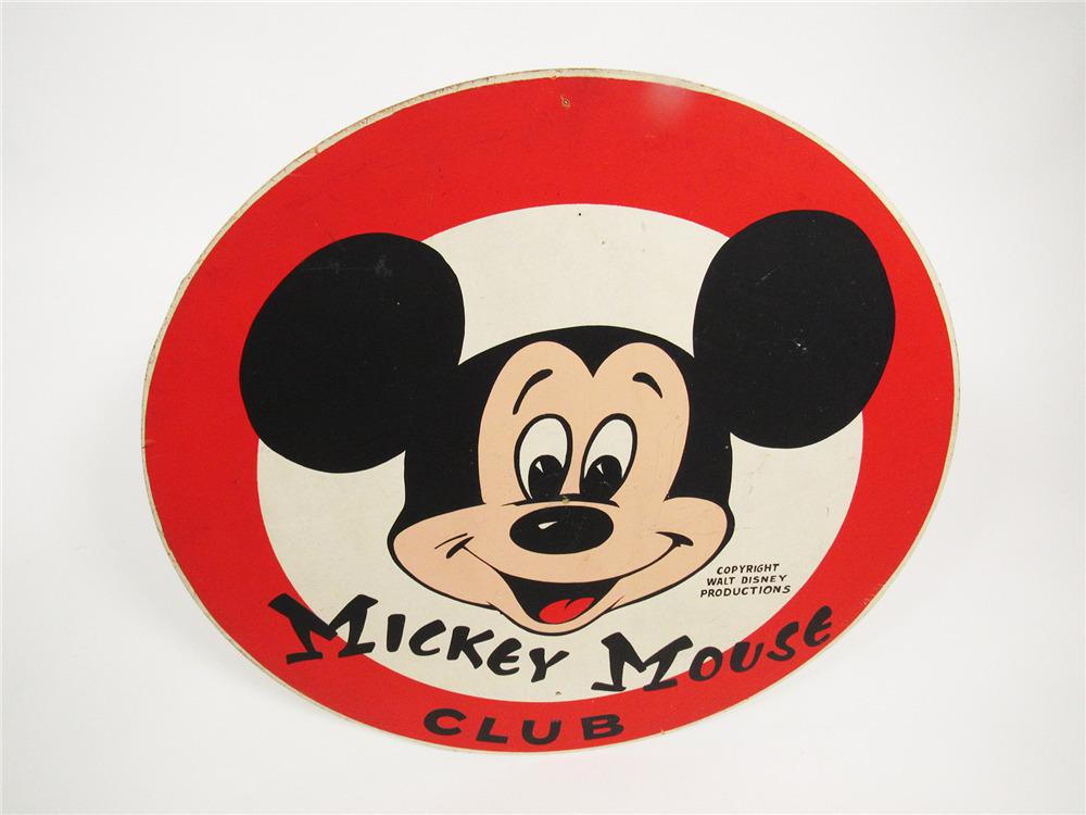 Scarce Circa 1950s Mickey Mouse Club Walt Disney Productions