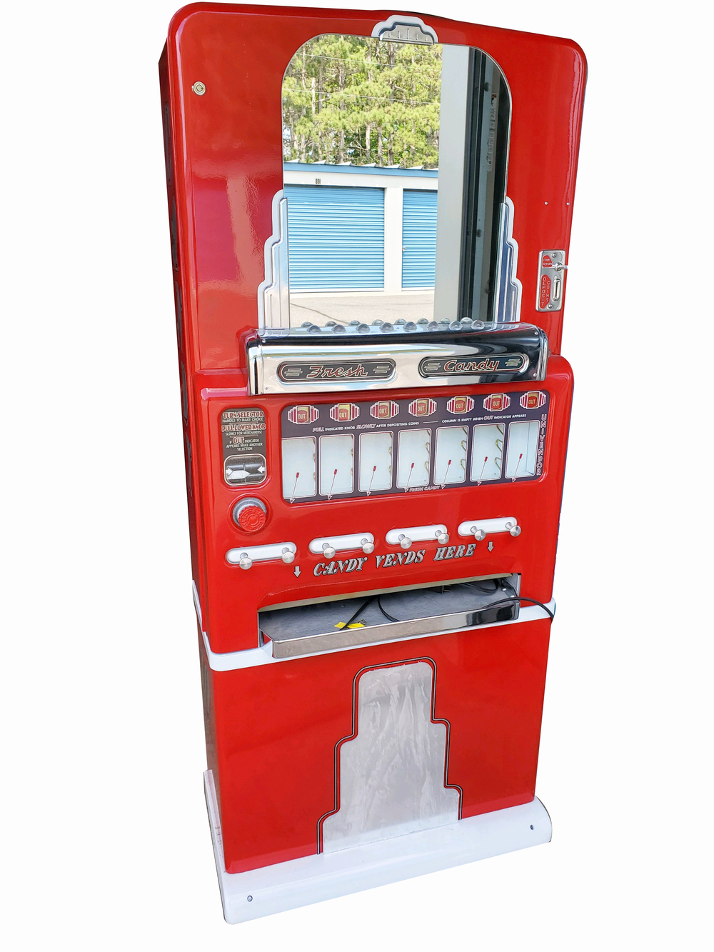 1930S-40S STONER COIN-OPERATED CANDY MACHINE