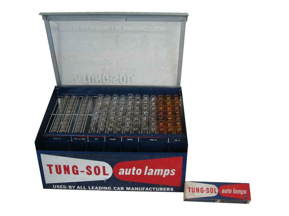 1960s Tungsol Automotive light-bulbs service department count