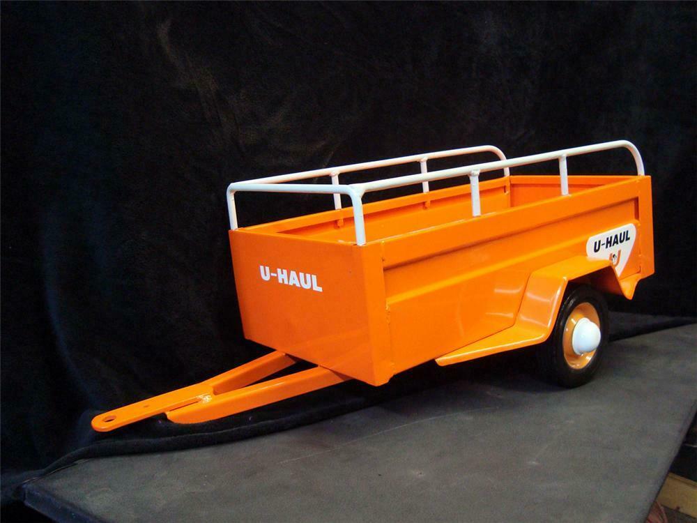 Hard to find 1950s U-Haul pedal car trailer