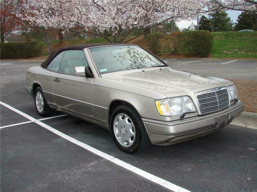 1994 mercedes benz e320 convertible barrett jackson