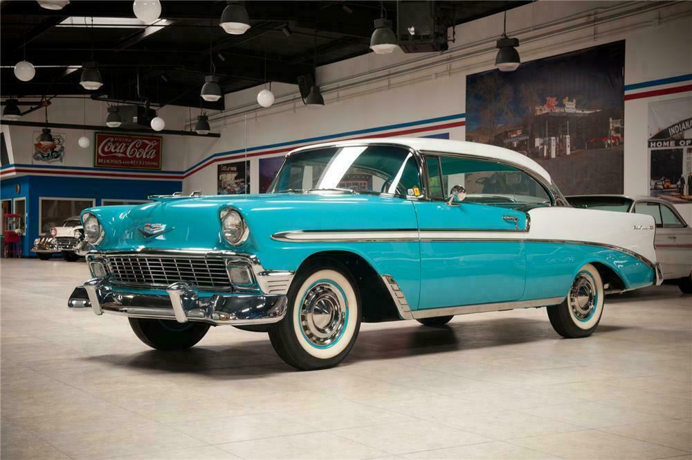 Outstanding 1956 Chevrolet Bel Air 2 Door Hardtop Beutiful Home Inspiration Semekurdistantinfo