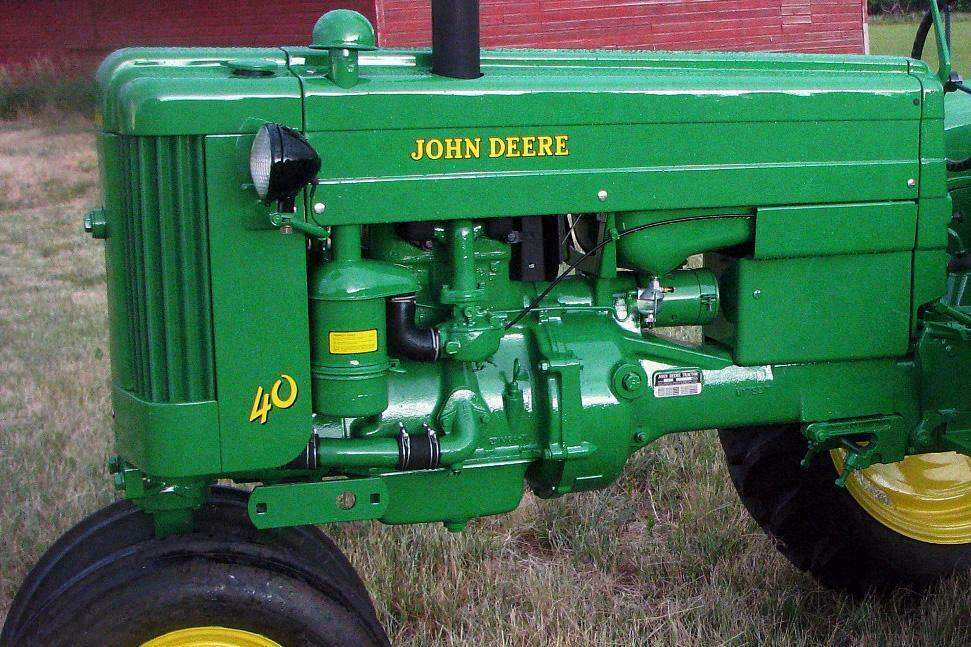 John Deere Model 40 Wiring Diagram