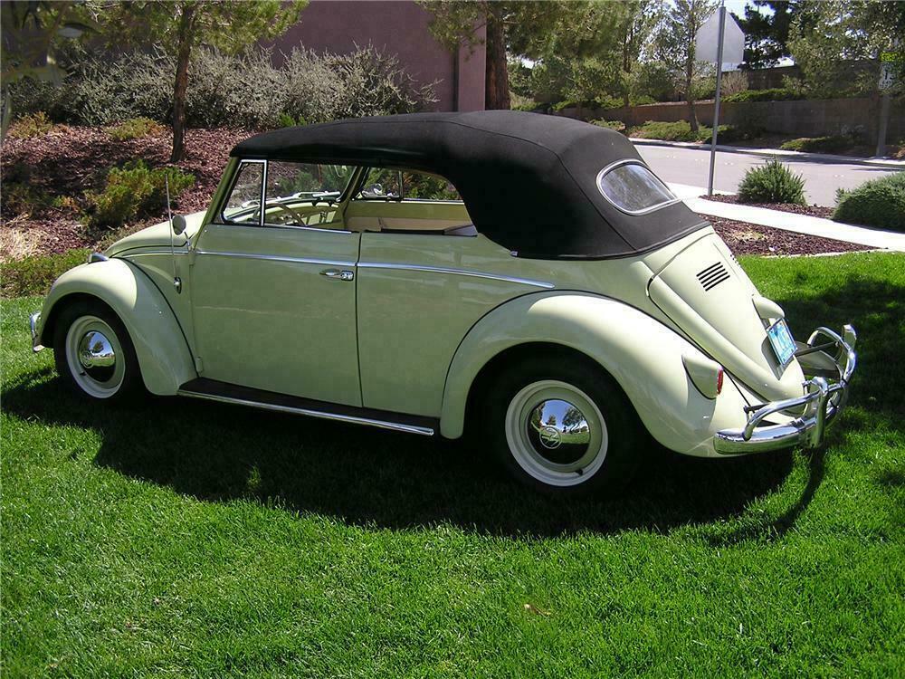 1964 Volkswagen Beetle Custom Convertible Side Profile 112614