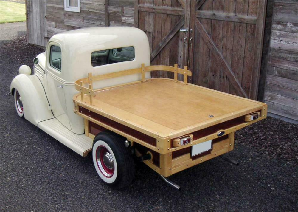 1938 Ford Custom Flatbed Woody Truck