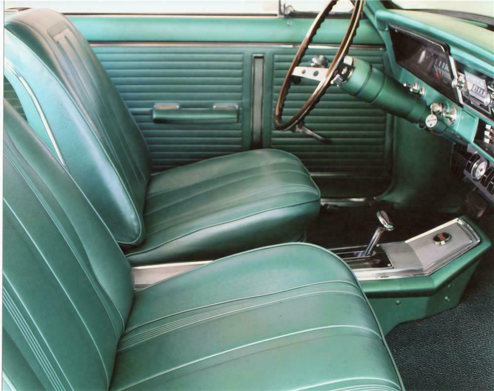 1966 Chevrolet Nova Ss Custom 2 Door Sport Coupe