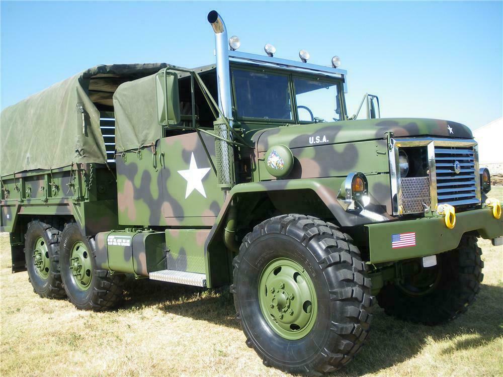 1989 am general m35a2c custom military cargo truck