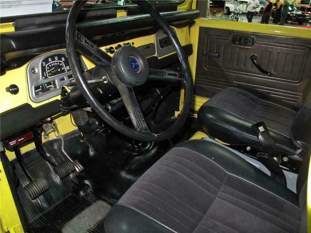 1977 Toyota Land Cruiser Fj 40 Custom Suv