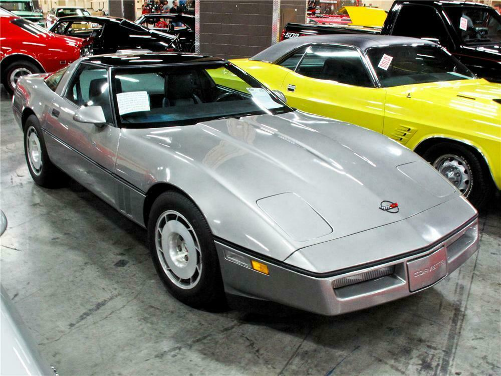 1986 Chevrolet Corvette Coupe Front 3 4 115173