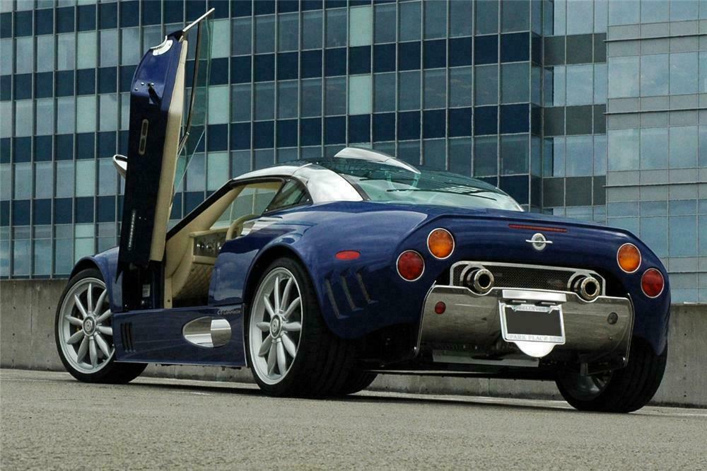 2009 Spyker C8 Laviolette Coupe Rear 3 4 116106