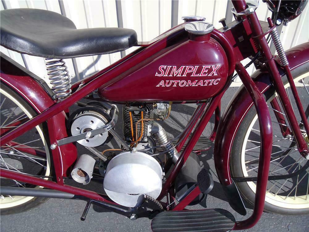 1957 SIMPLEX MOTORCYCLE