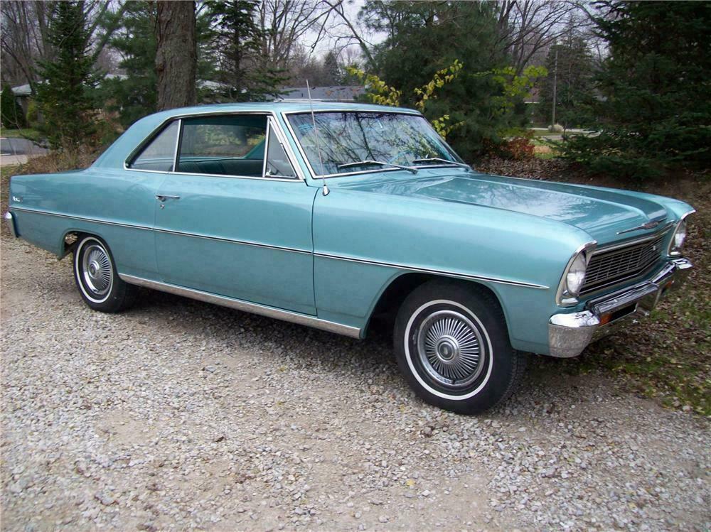 1966 Chevrolet Chevy Ii 2 Door Coupe