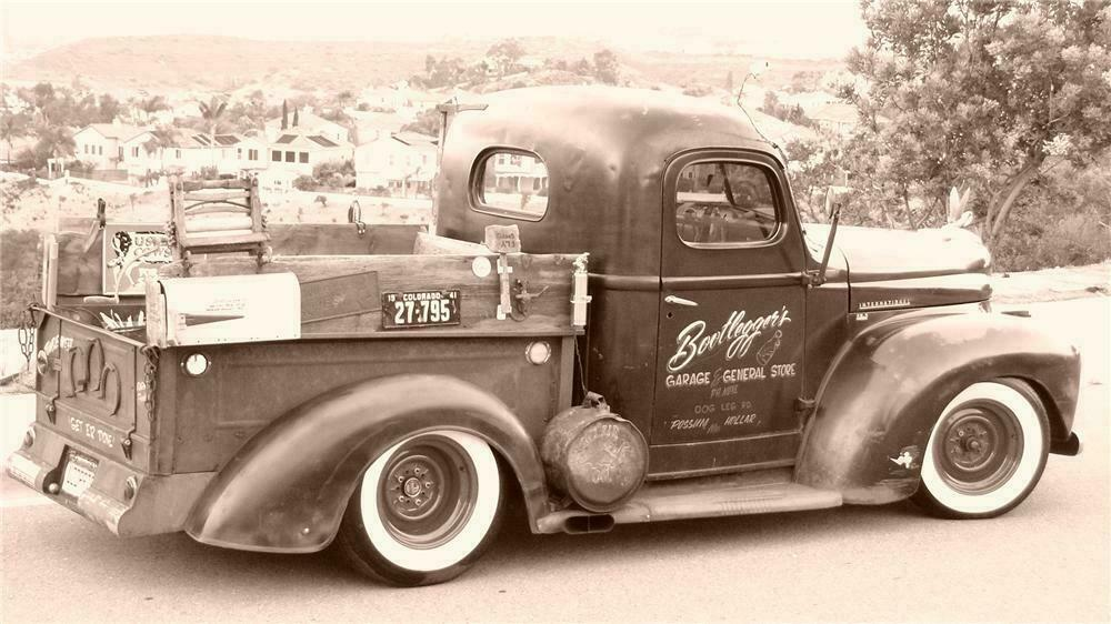 1949 INTERNATIONAL CUSTOM PICKUP