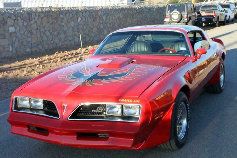1977 Pontiac Firebird Trans Am Custom Coupe