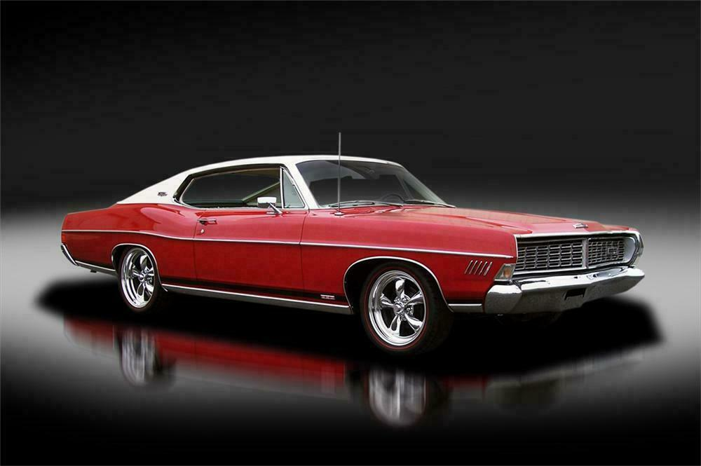 1968 Ford Galaxie Xl Fastback Front 3 4 125313
