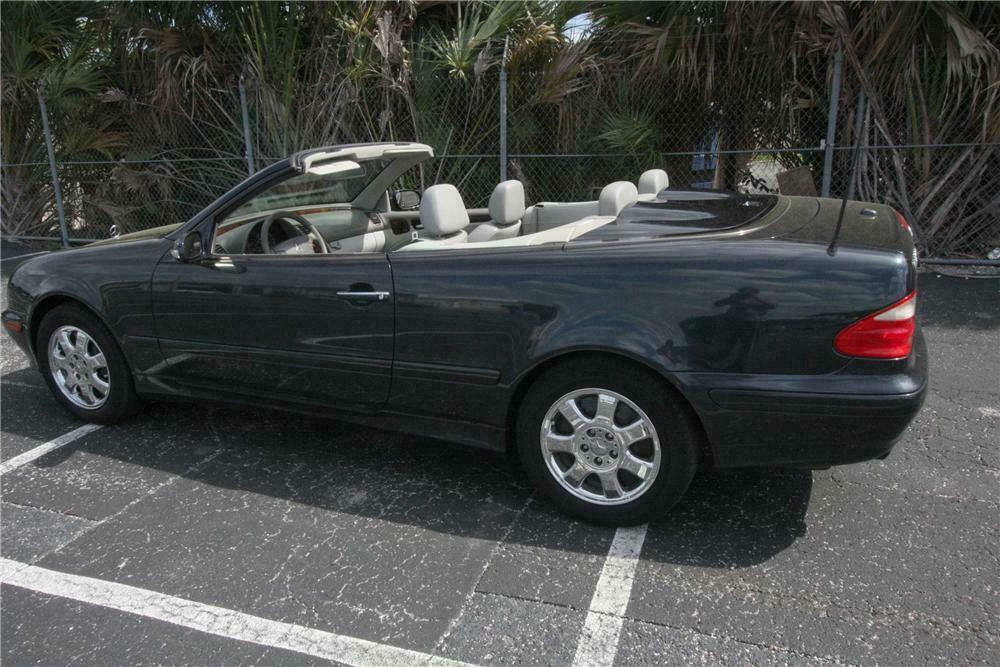 2000 Mercedes Benz Clk 320 Convertible Side Profile 125779
