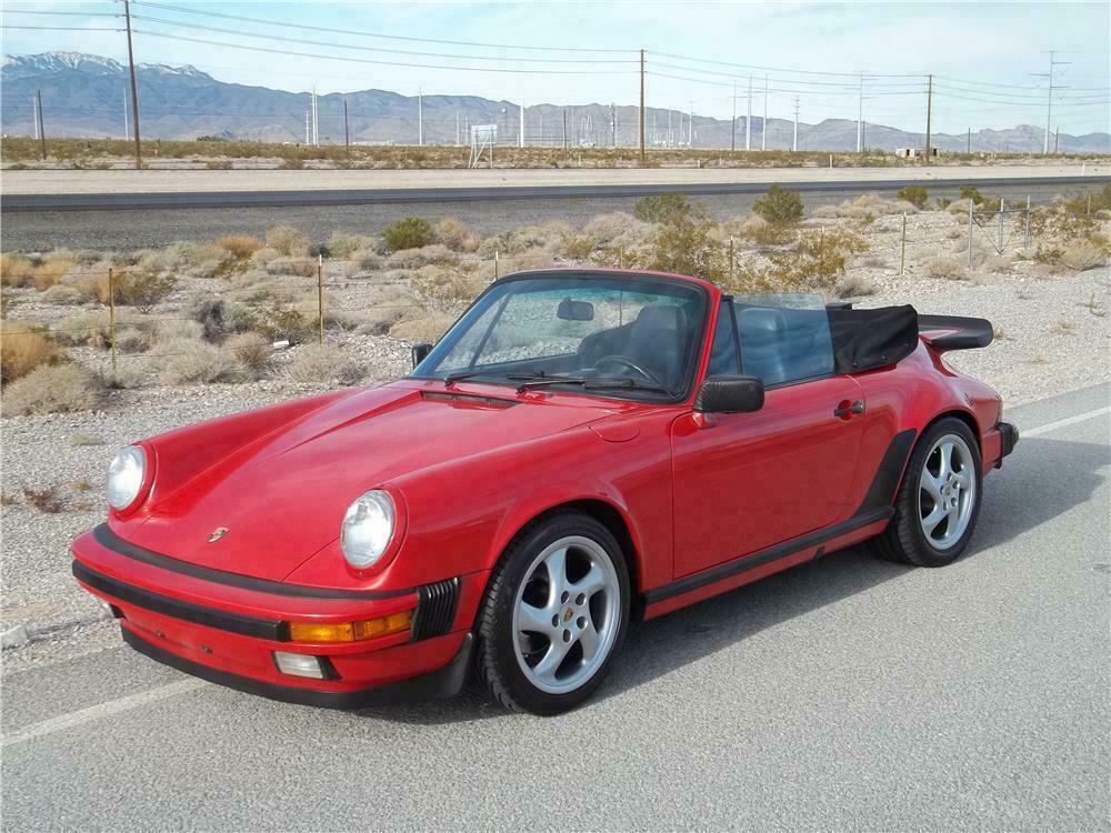 1988 Porsche 911 >> 1988 Porsche 911 Carrera Cabriolet