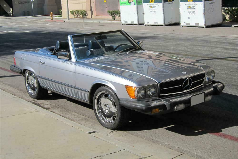 1978 MERCEDES-BENZ 450SL CONVERTIBLE130372 Sold* at