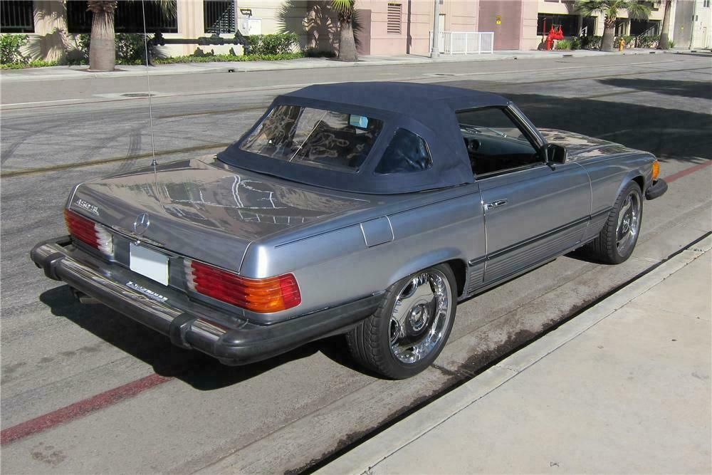 1978 MERCEDES-BENZ 450SL CONVERTIBLE130372 Sold* at