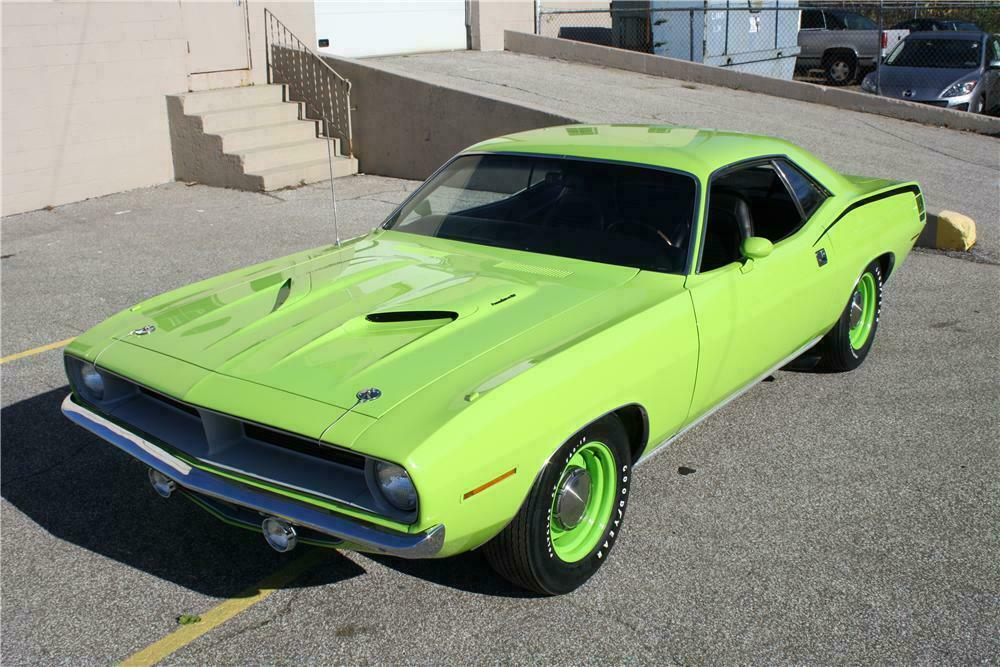 1970 Plymouth Barracuda Hemi Cuda Re Creation Front 3 4 137848
