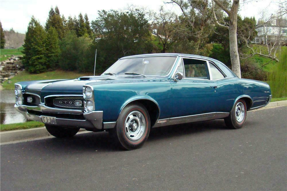 1967 PONTIAC GTO 2 DOOR POST