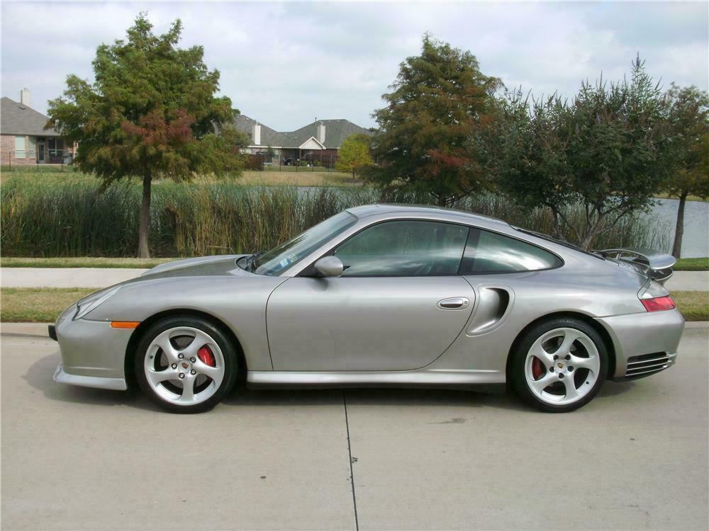 2001 Porsche 911 Turbo 2 Door Coupe