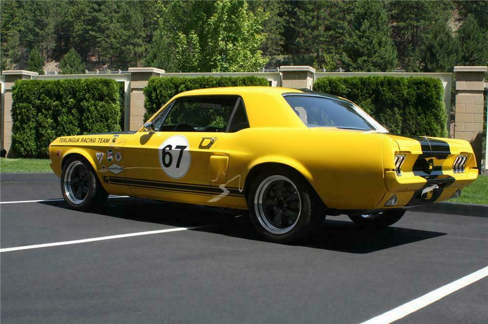 1967 SHELBY MUSTANG TERLINGUA CONTINUATION