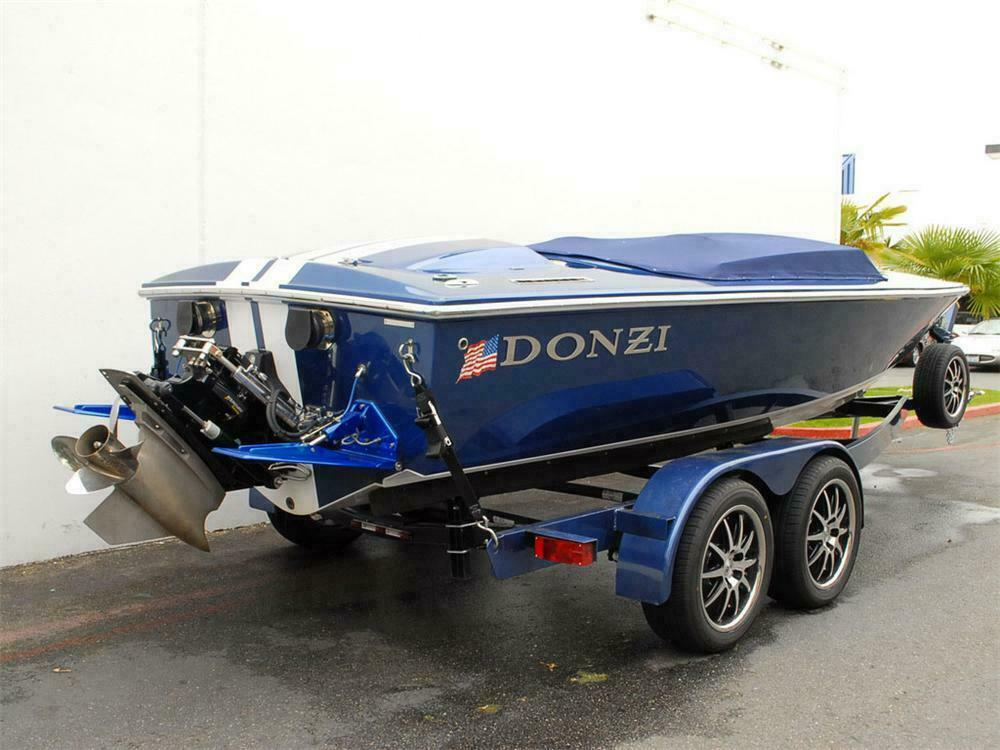 2007 DONZI 22 CLASSIC SHELBY GT BOAT