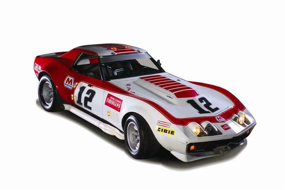 1968 chevrolet corvette l 88 owens corning racecar 1968 chevrolet corvette l 88 owens