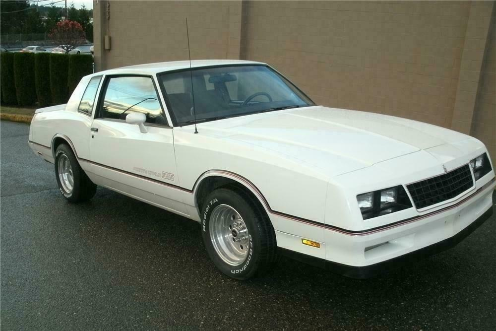 1985 Chevrolet Monte Carlo Ss 2 Door Hardtop