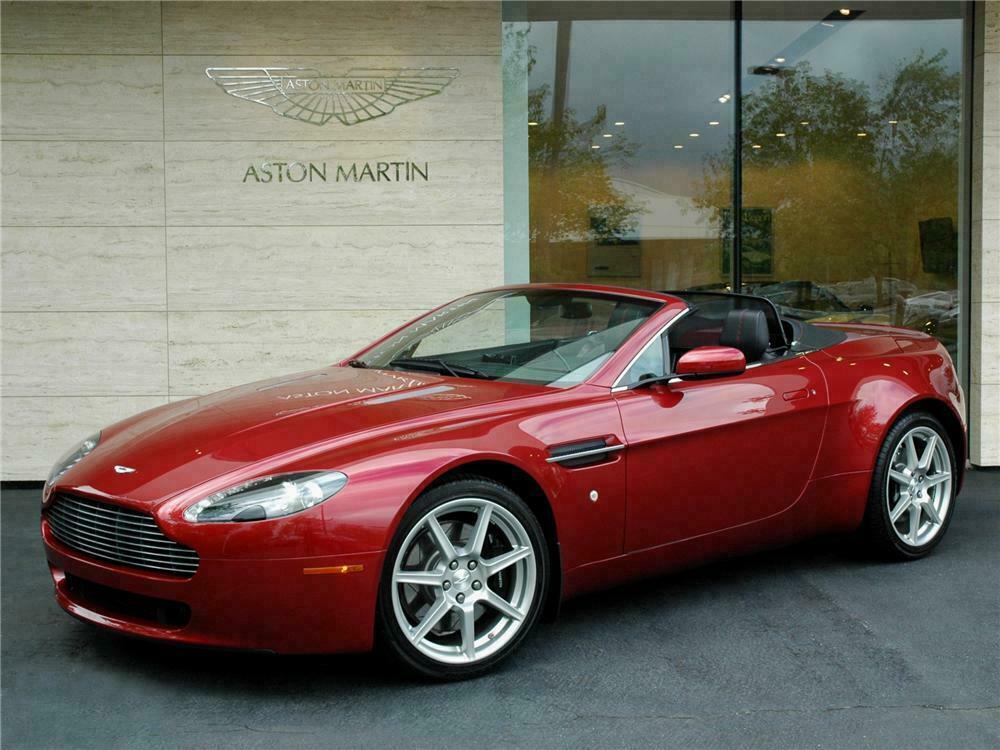 2008 Aston Martin Vantage Convertible