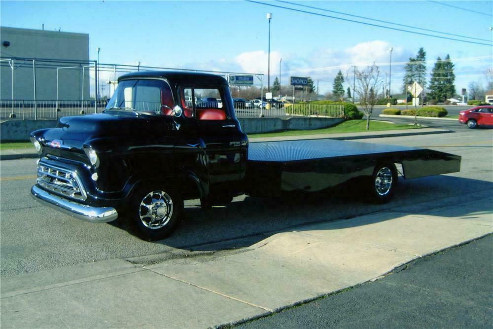 1957 Chevrolet Custom Ramp Truck