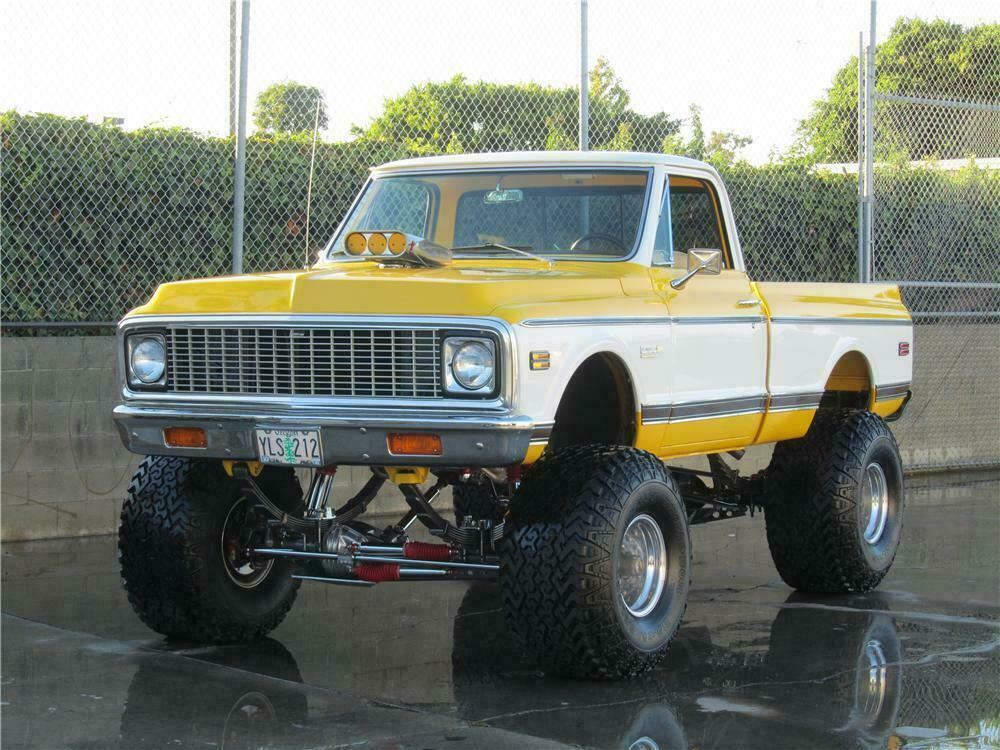 1972 CHEVROLET CHEYENNE CUSTOM PICKUP