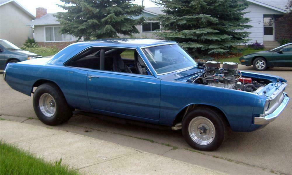1970 DODGE DART FACTORY DRAG CAR -