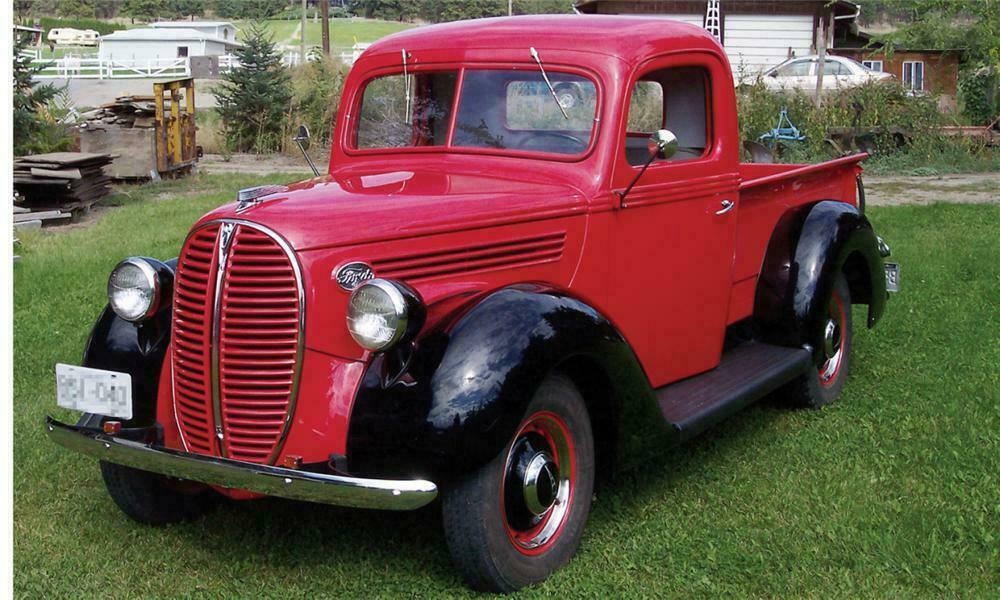 1938 Ford Truck >> 1938 Ford 85 Pickup