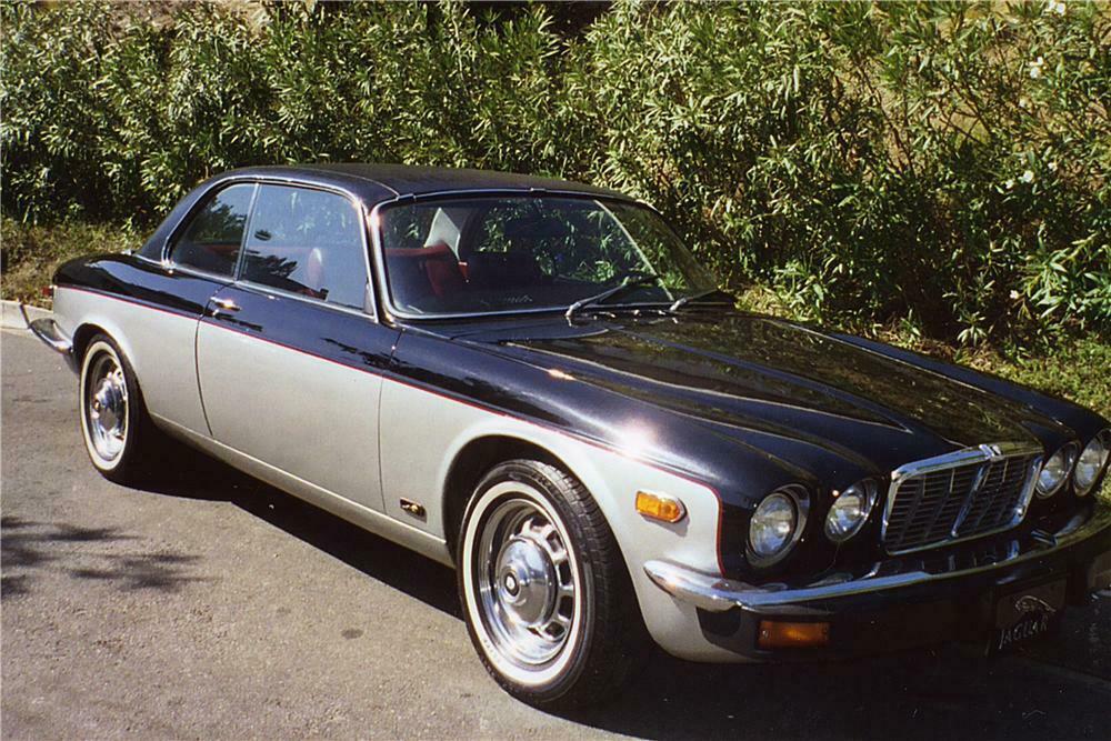 A Jaguar Xjs 3 6 Litre Luxury Grand Tourer 2 Door Coupe At The Stock