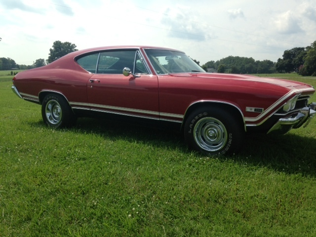 1968 CHEVROLET CHEVELLE SS 396 COUPE