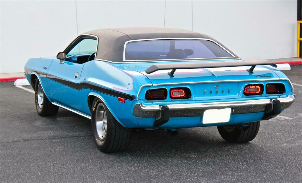 1973 Dodge Challenger Custom 2 Door Hardtop