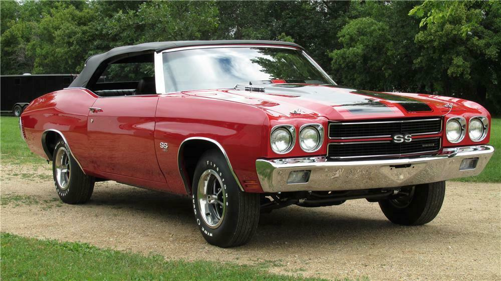 1970 Chevrolet Chevelle Ss Ls6 Convertible Front 3 4 157906