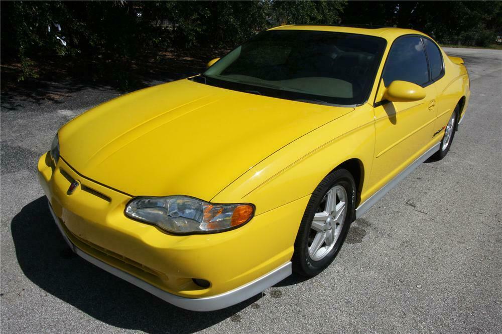 2004 Chevrolet Monte Carlo Ss 2 Door Coupe Front 3 4 157940
