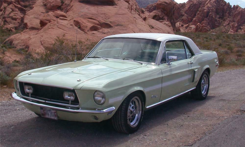 1968 FORD MUSTANG CALIFORNIA SPECIAL COUPE -