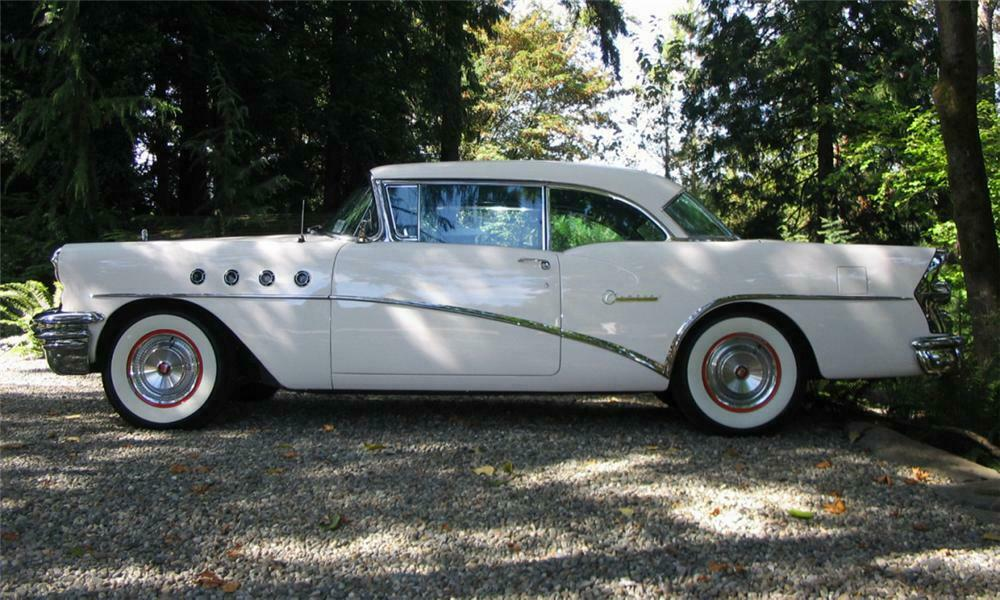 1955 BUICK CENTURY 2 DOOR HARDTOP - Side Profile - 15926