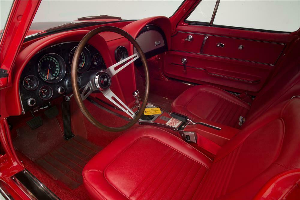 1967 Chevrolet Corvette L88 2 Door Coupe Interior 161046