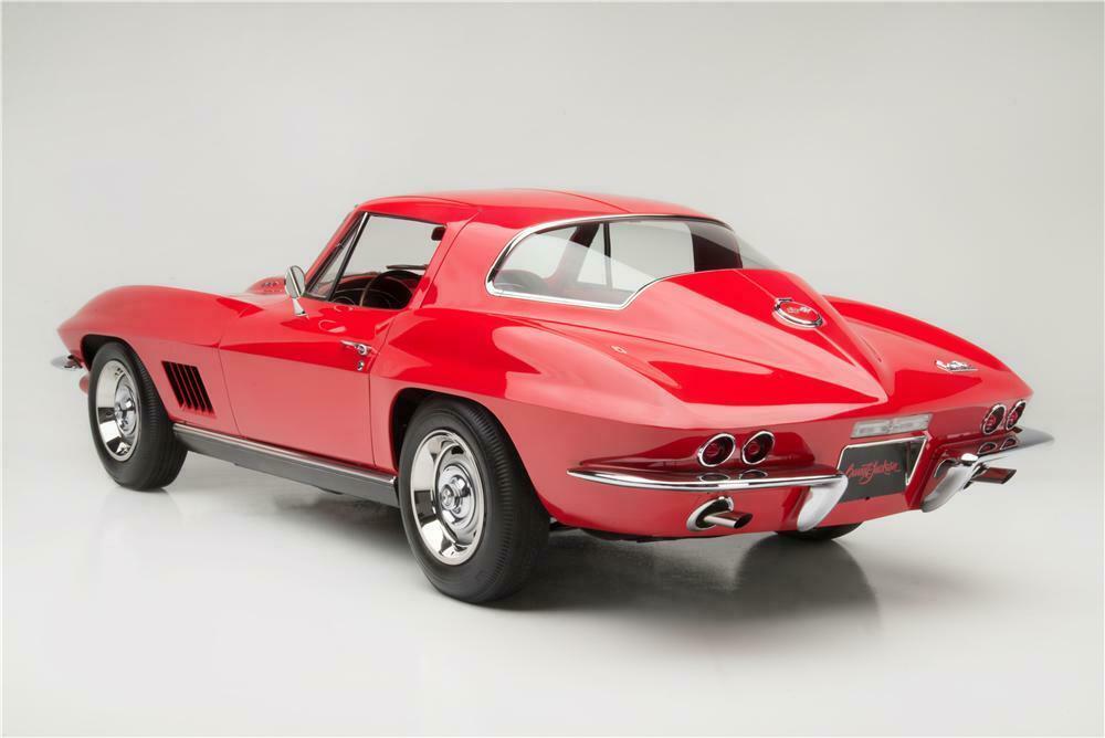 1967 Chevrolet Corvette L88 2 Door Coupe Rear 3 4 161046